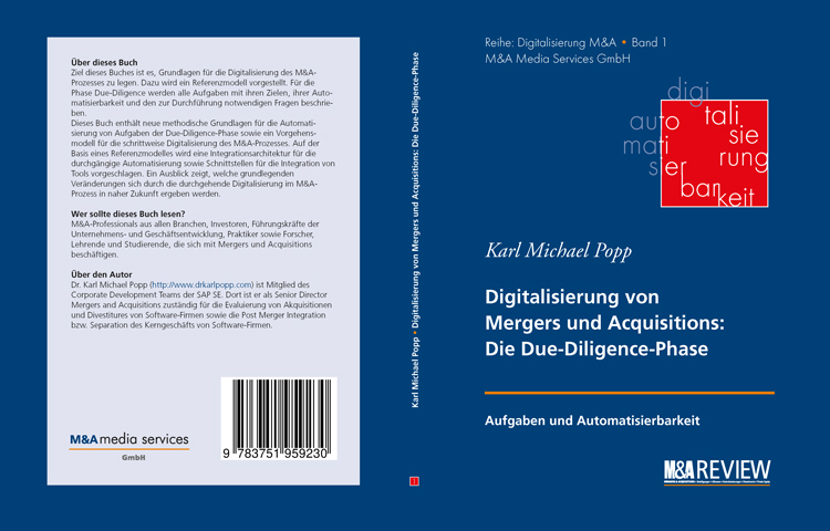 Digitalisierung M&A Buch