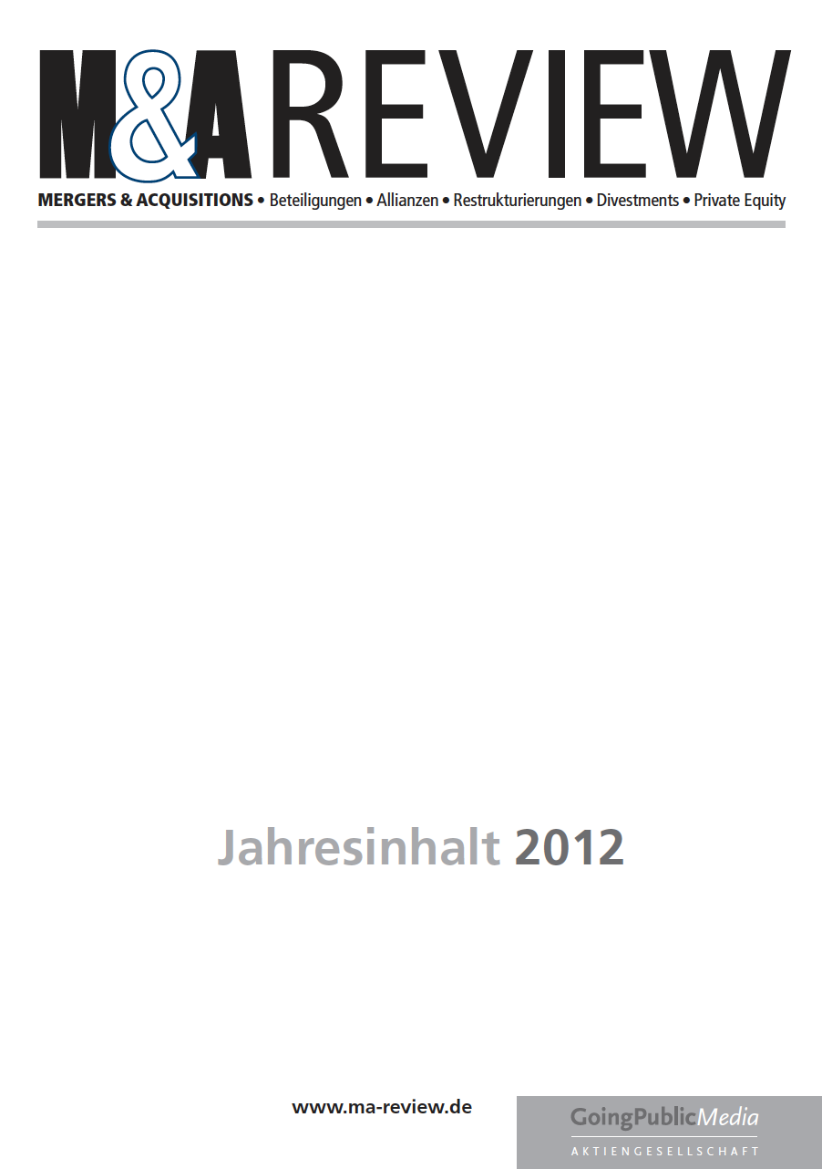 M&A REVIEW – Jahresindex 2012