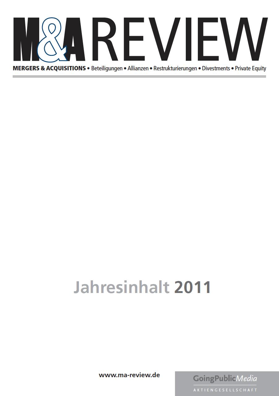 M&A REVIEW – Jahresindex 2011